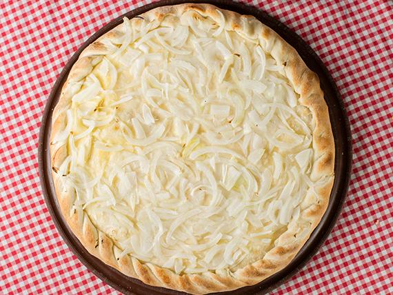 31 - Fugazzetta rellena con queso