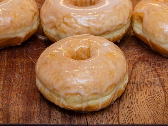 Donut glaseada