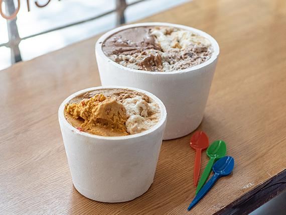 Promo - Helado 1 kg + helado 1/2 kg