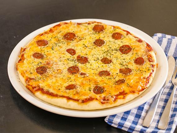 Pizzeta muzzerella + 1 gusto (32 cm)