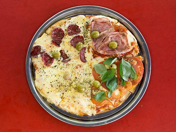 Pizza cuartos de final