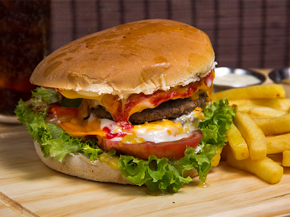 Combo - The Traditional Burger