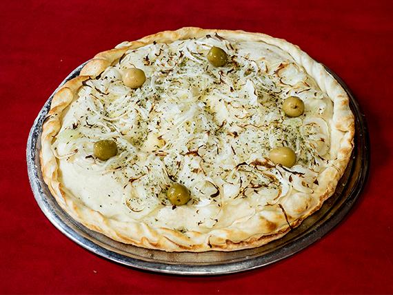 Pizza rellena fugazzetta grande