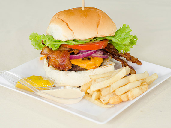 2 - Burger supremo