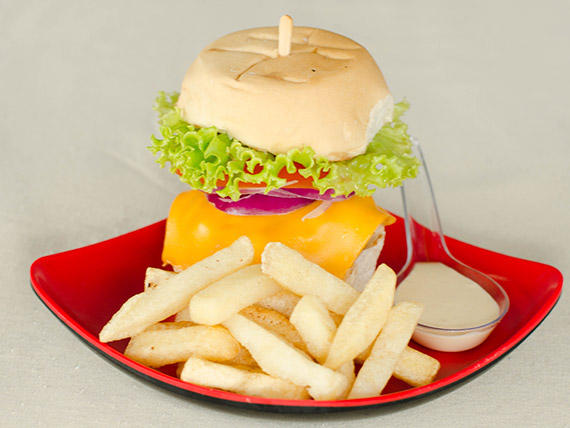 Monte seu mini  burger (60 g)
