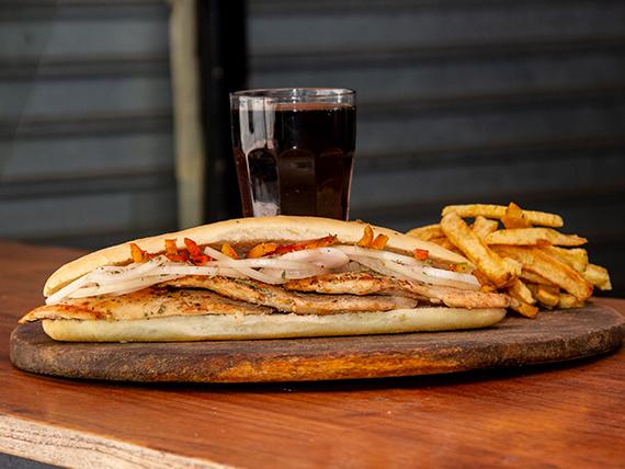 Sándwiche de Pollo Oreganito