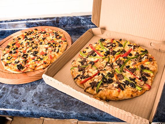 Promo - 2 pizzas medianas