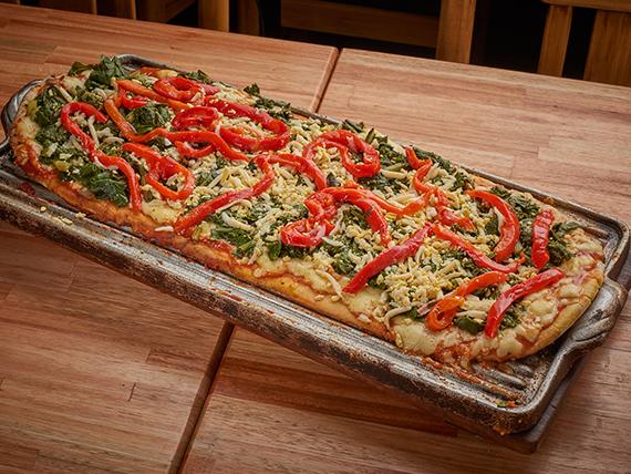 Pizza con acelga