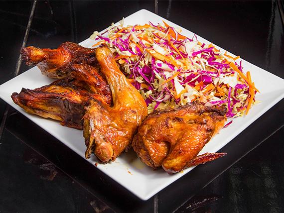Promo 2 - Pollo entero + ensalada