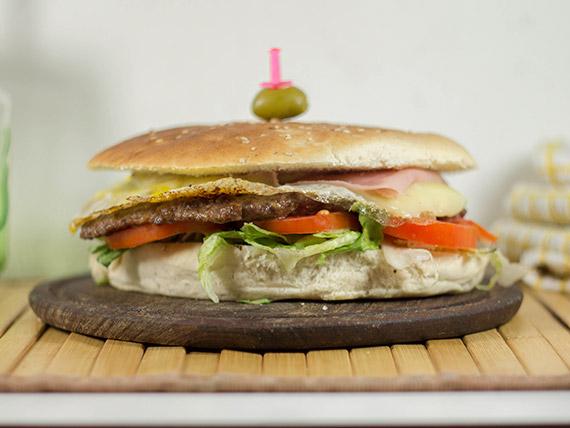 Super hamburguesa especial