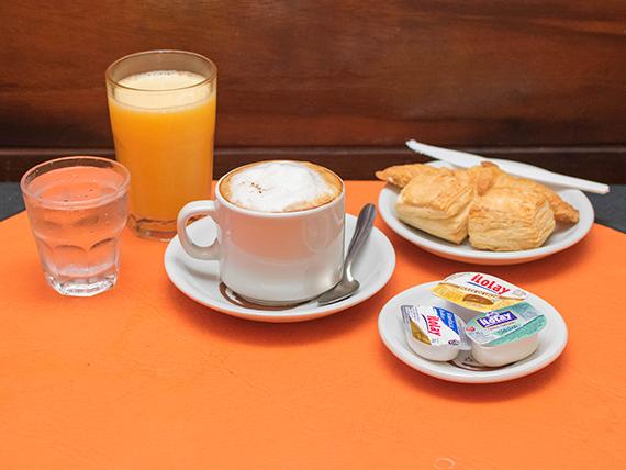 Desayuno o merienda - Completo con criollito