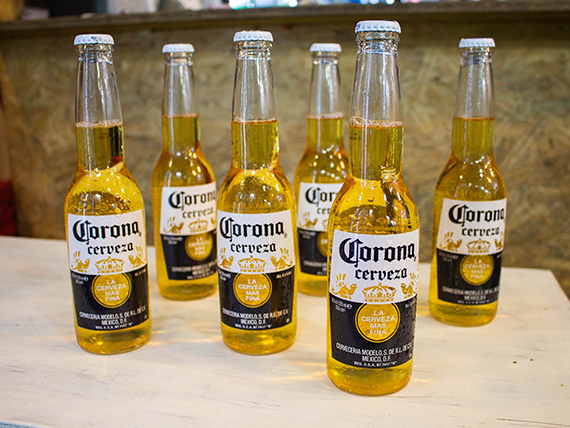 Promo 13 - 6 porrones de cerveza Corona