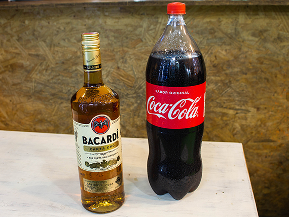 Promo 24 - Ron Bacardi Gold x 750 ml + Coca Cola 2.25 L