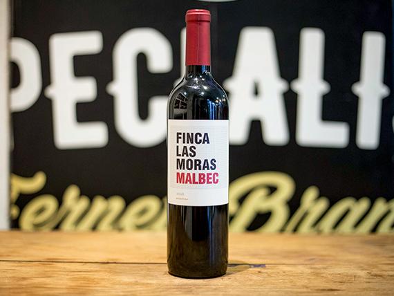 Vino finca Las Moras Malbec 750 ml