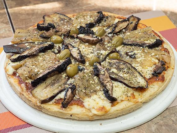 39 - Pizza con berenjenas en escabeche