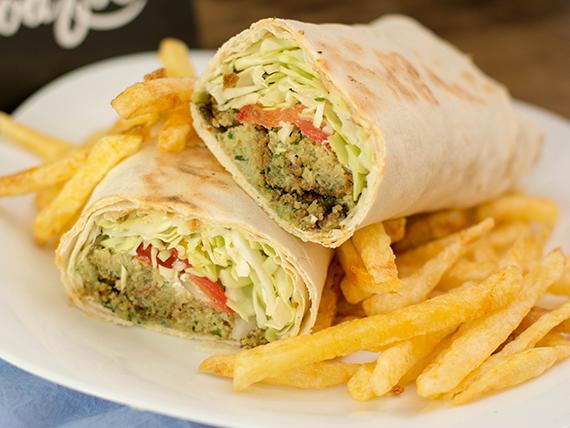 Shawarma vegetariano de falafel (400 gr)