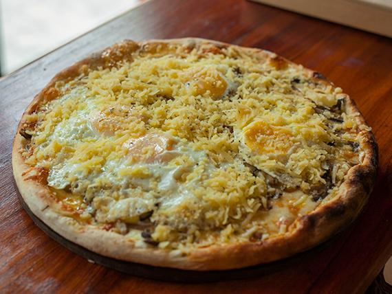 33 - Pizza especial alpinista