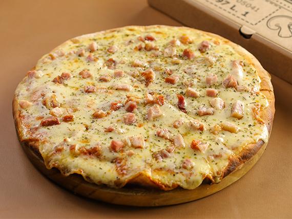 Pizzeta muzzarella con gustos