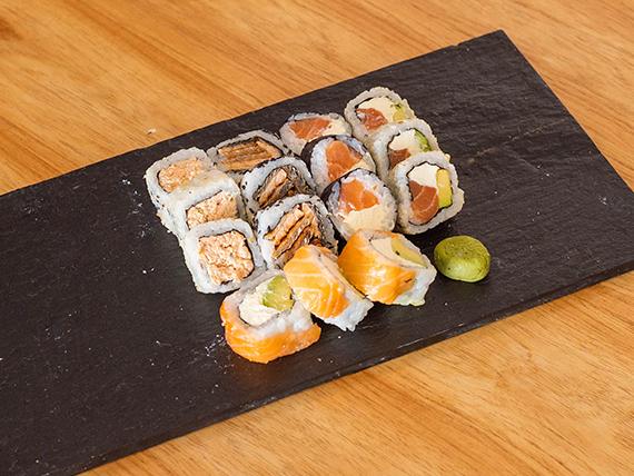 Combo yaffo - 100 % salmón (15 piezas)