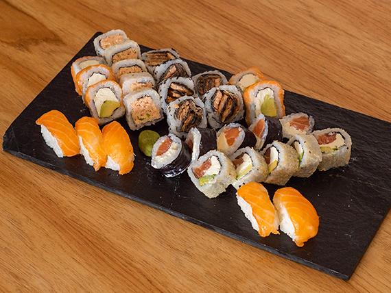 Combo yaffo - 100 % salmón  (30 piezas)