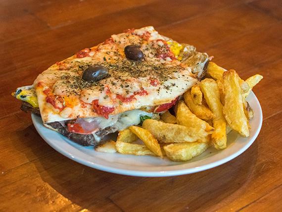 Lomo pizza