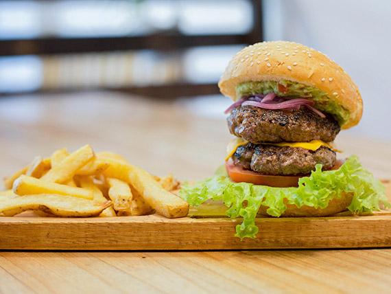 Burger double Texas