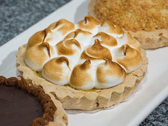 Tarta Lemon pie (Sin tac)