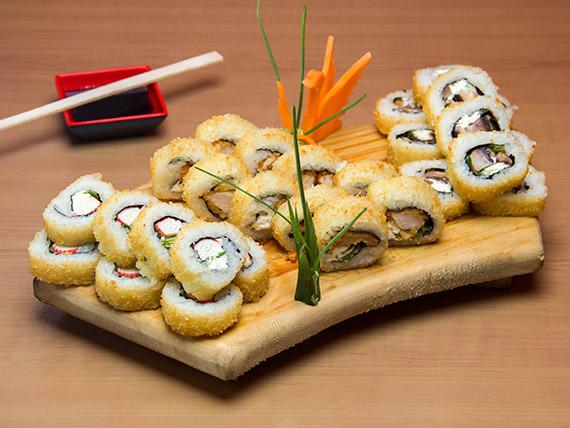Promo hot rolls - 30 piezas