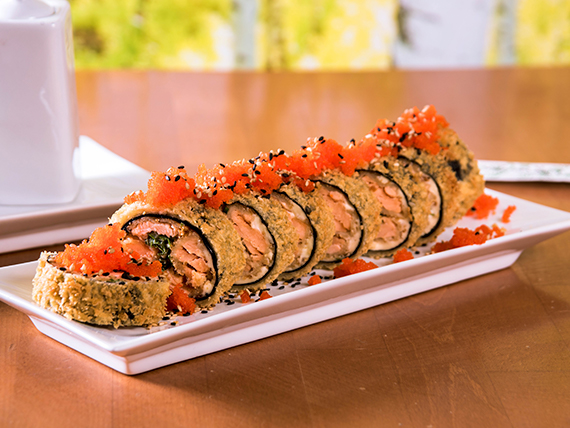 61 - Dragon roll (8 unidades)