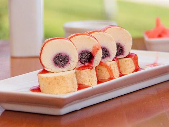 154 - Cheese cake de frutos rojos