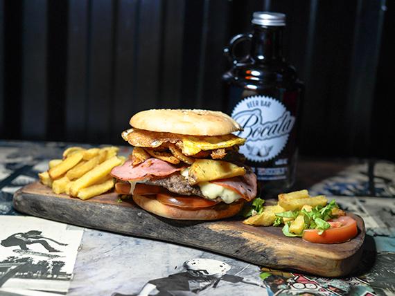 147 - Sándwich de hamburguesa casera Big Marley