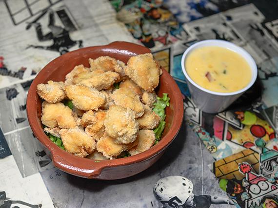 80 - Bocaditos de pollo a la mostaza