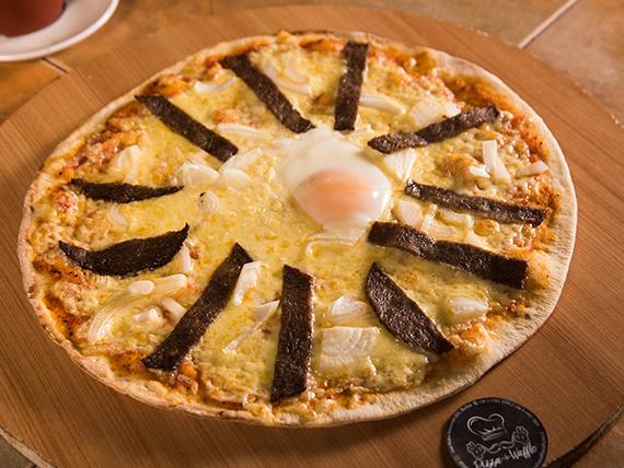 Pizza a lo pobre mediana