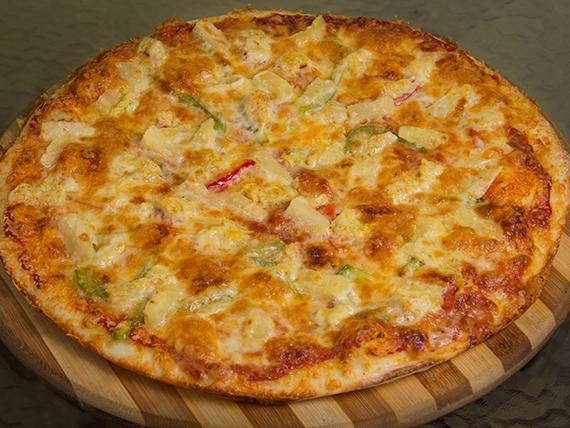 Pizza el arcoiris