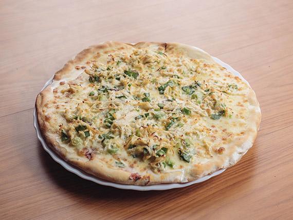 12 - Pizza con pollo a la crema