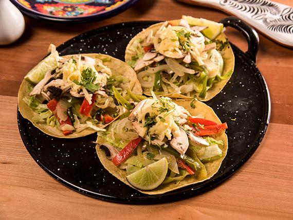 Taco vegetariano (3 unidades)
