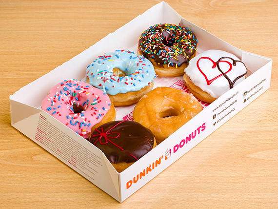 Promo - 6 donuts + bebida 1 L