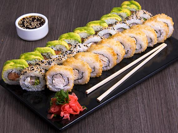 Promo great rolls - 30 piezas (2 personas)