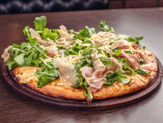 Pizza parmesana