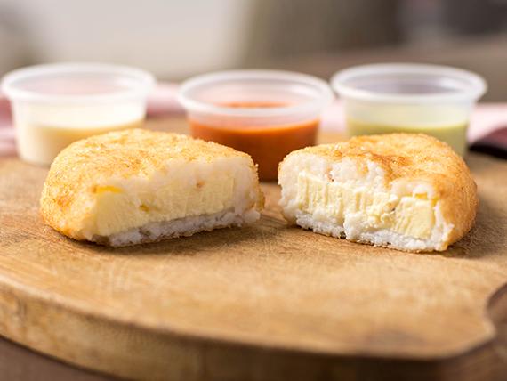 Empanada de queso llanero