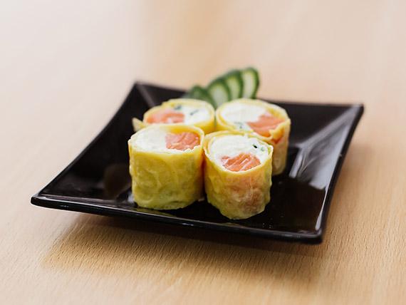 Green tamago roll (8 piezas)