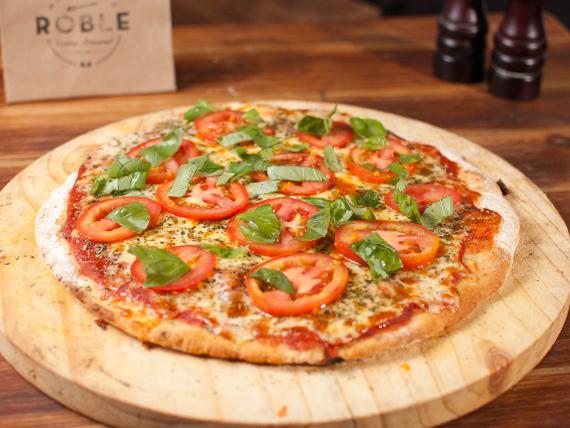 Pizzeta muzzarella  (32 cm. 8 porciones)