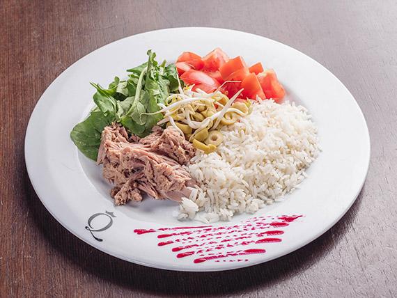 Menú diario salad bar Elizabeth