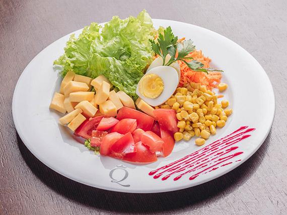 Menú diario salad bar tradicional
