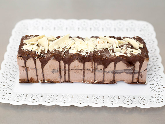 Postre marquise de chocolate (8-10 porciones)