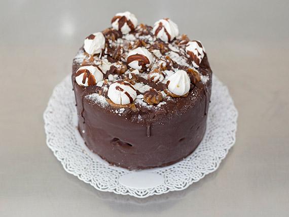Postre brownie