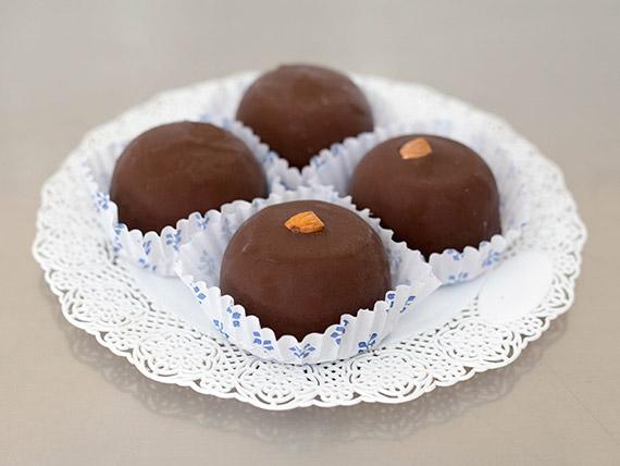 Bombos de chocolate