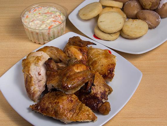 Pollo asado - familiar (1 pollo)