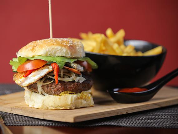 613 House burger