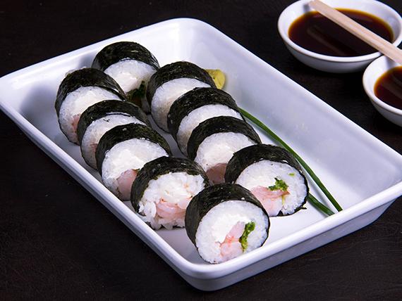 Futomaki ebi roll (10 piezas)
